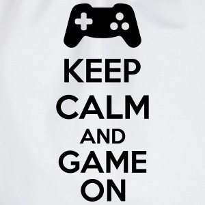 Keep Calm And Game On Shirts - Gymtas