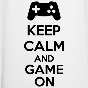 Keep Calm And Game On Shirts - Keukenschort