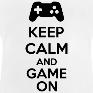 Keep Calm And Game On Shirts - Baby T-shirt