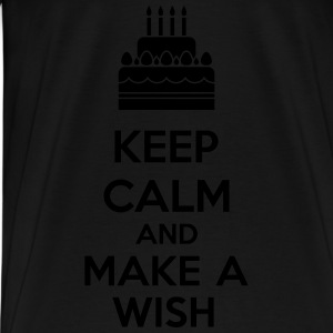 Keep Calm And Make A Wish Top - Maglietta Premium da uomo