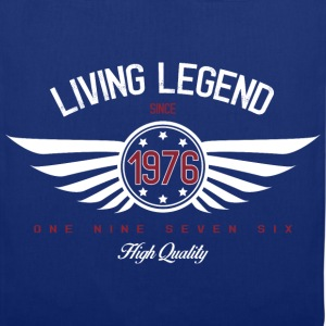 Living Legend Withe T-Shirts - Stoffbeutel