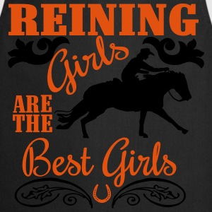Reining Girls are the best Girls Koszulki z długim rękawem - Fartuch kuchenny