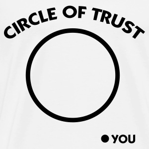 Circle of Trust Tops - Mannen Premium T-shirt