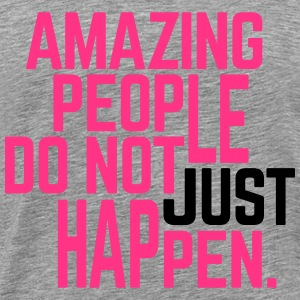 Amazing People  Tops - Camiseta premium hombre