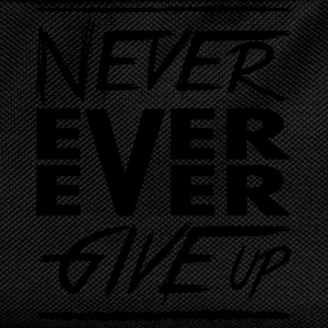 Never ever ever give up Hoodies & Sweatshirts - Kids' Backpack