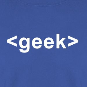 Geek Tag - Men's Sweatshirt