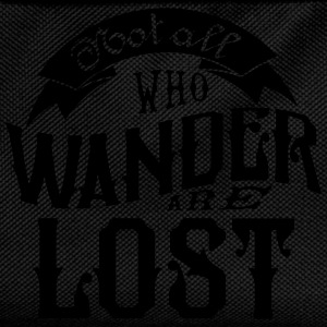 Not all who wander are lost T-shirts - Rugzak voor kinderen