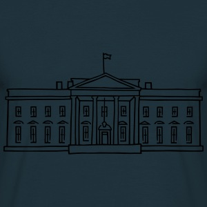 The White House in Washington Hoodies & Sweatshirts - Men's T-Shirt