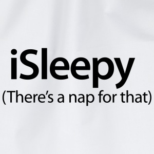 iSleepy - There's a nap for that Overig - Gymtas