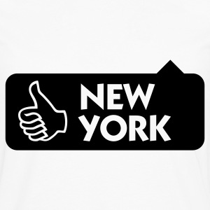 New York is geweldig! Shirts - Mannen Premium shirt met lange mouwen
