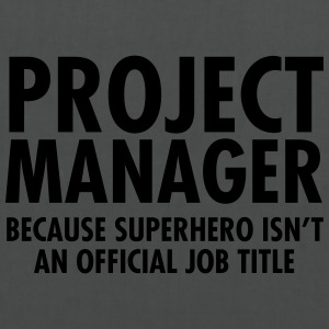 Project Manager - Superhero T-shirts - Tas van stof