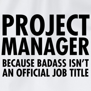 Project Manager - Badass T-Shirts - Drawstring Bag
