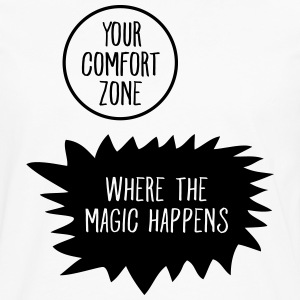 Get Out Your Comfort Zone T-shirts - Herre premium T-shirt med lange ærmer