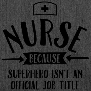 Nurse - Superhero T-Shirts - Shoulder Bag made from recycled material