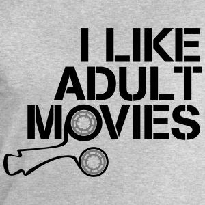 i like adult movies T-shirts - Sweatshirt herr från Stanley & Stella