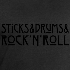 Sticks + Drums + Rock'n'Roll T-Shirts - Männer Sweatshirt von Stanley & Stella