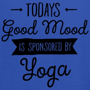 Good Mood Sponsored By Yoga T-Shirts - Women's Tank Top by Bella