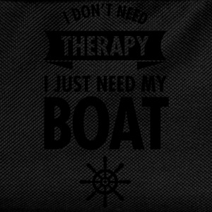 I Don't Need Therapy - I Just Need My Boat T-shirts - Rygsæk til børn