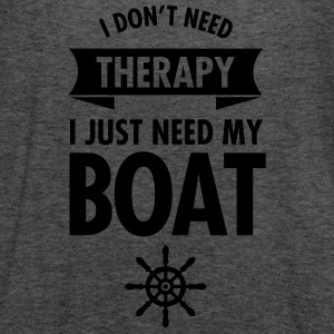 I Don't Need Therapy - I Just Need My Boat T-Shirts - Women's Tank Top by Bella