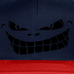 mal souriant smiley Tee shirts - Casquette snapback