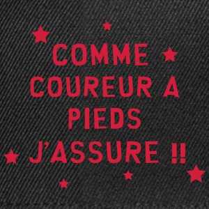 Course à pied / Coureur / Jogging / Running / Run Tee shirts - Casquette snapback