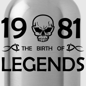 1981 Legends - Trinkflasche