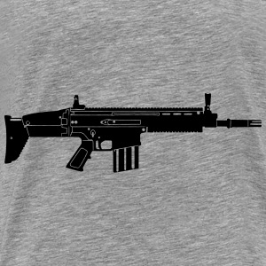 Scar Weapon Military Rifle Sweat-shirts - T-shirt Premium Homme