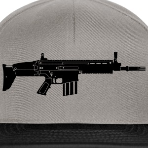Scar Weapon Military Rifle Bluzy - Czapka typu snapback