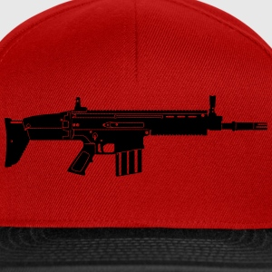 Scar Weapon Military Rifle Gensere - Snapback-caps