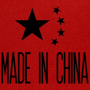 Made in China T-shirts - Snapback cap