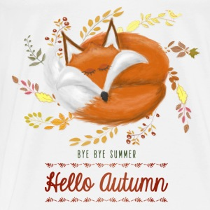 Sac Hello Autumn - T-shirt Premium Homme