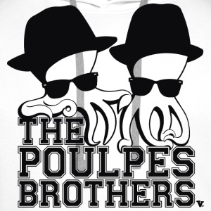 The Poulpes Brothers Tee shirts - Sweat-shirt à capuche Premium pour hommes