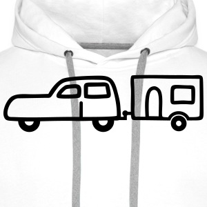 Small caravan T-Shirts - Men's Premium Hoodie