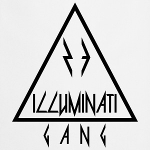 Illuminati Gang Triangle - Forklæde