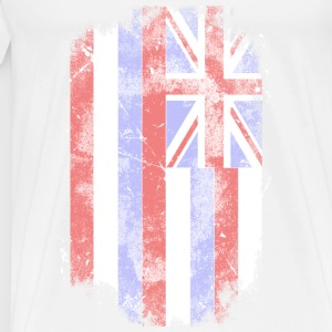 Hawaii Flag - Vintage Look Tank Tops - Männer Premium T-Shirt