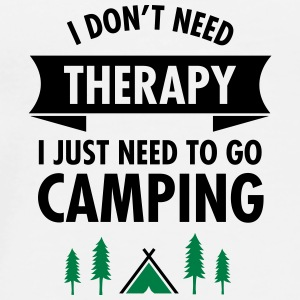 I Don't Need Therapy - I Just Need To Go Camping Torby i plecaki - Koszulka męska Premium