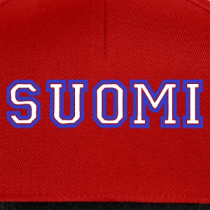 suomi Tee shirts - Casquette snapback