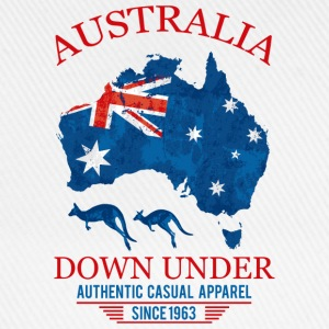 AUSTRALIA - DOWN UNDER 2 T-Shirts - Baseball Cap