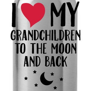 I Love My Grandchildren To The Moon And Back T-Shirts - Water Bottle
