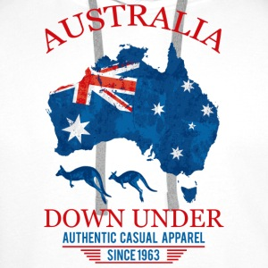 AUSTRALIA - DOWN UNDER 2 T-Shirts - Men's Premium Hoodie