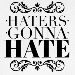 Haters gonna hate Mokken & toebehoor - Baseballcap