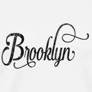 Brooklyn typography vintage Mugs & Drinkware - Men's Premium T-Shirt