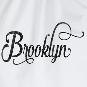 Brooklyn typography vintage Magliette - Sacca sportiva