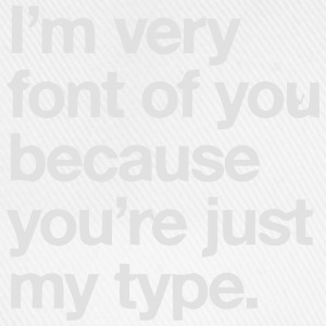 YOU'RE JOKE JUST MY TYPO - GRAPHIC DESIGN Topper - Baseballcap