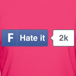 FB button - Hate Hoodies & Sweatshirts - Women's Organic T-shirt