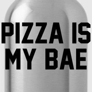 PIZZA IS MY BABE T-shirts - Drikkeflaske