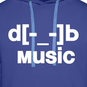 music Tee shirts - Sweat-shirt à capuche Premium pour hommes