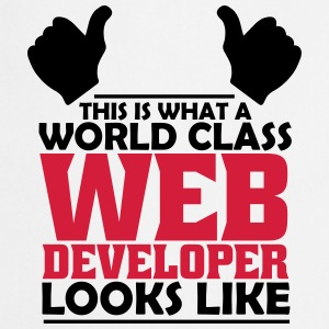 world class web developer T-Shirts - Cooking Apron