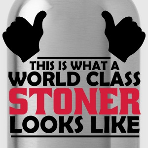 world class stoner T-Shirts - Water Bottle