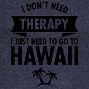 I Don't Need Therapy - I Just Need To Go To Hawaii T-shirts - Långärmad tröja med båtringning dam från Bella